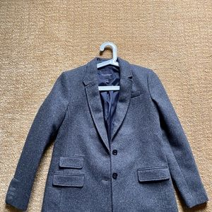 J. Crew wool hacking jacket tweed.
